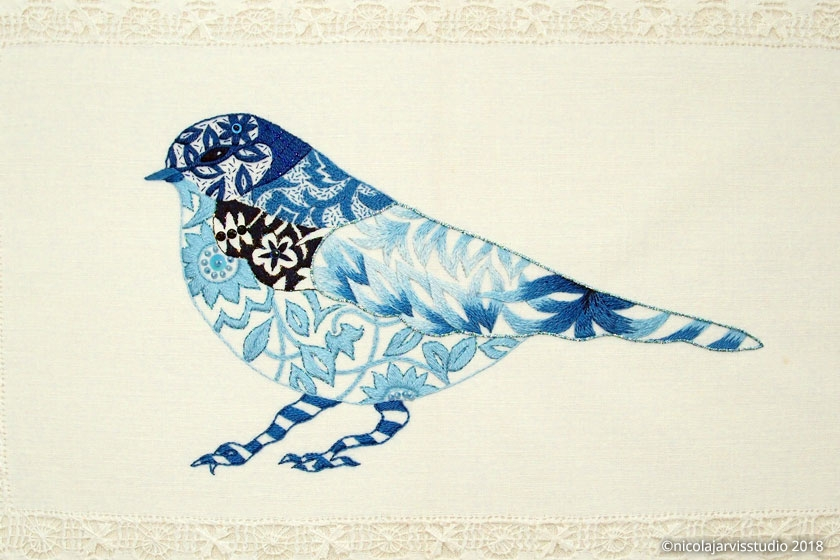 Nicola Jarvis Heavenly Bluebird