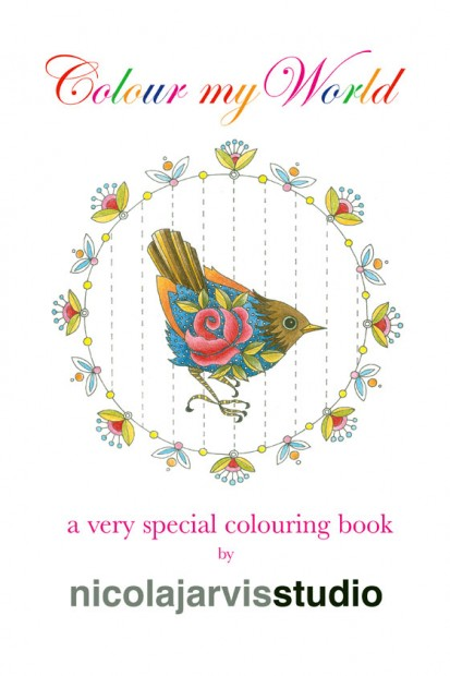 nicola jarvis colouring book
