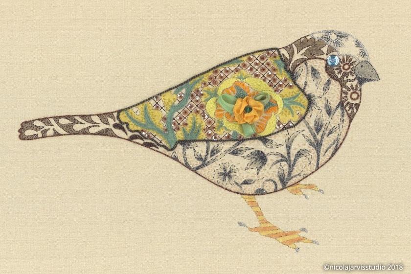 Nicola Jarvis Studio Bijou Sparrow