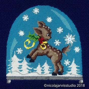 Christmas - Luxury Canvas Work