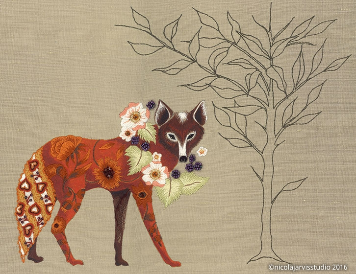 Nicola Jarvis Studio Fox and Willow