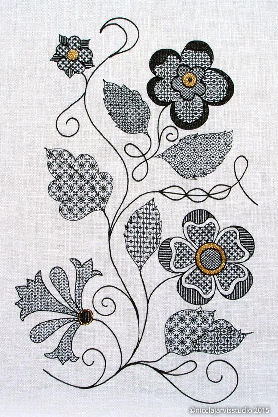 Nicola Jarvis Studio Quene Elizabeth's Sleeve Unpick'd