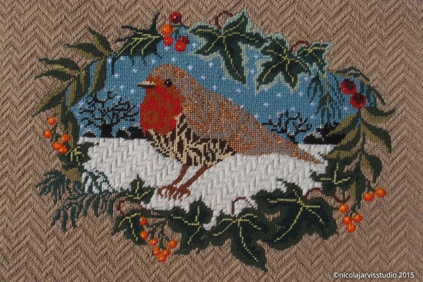 Nicola Jarvis Studio Christmas Robin