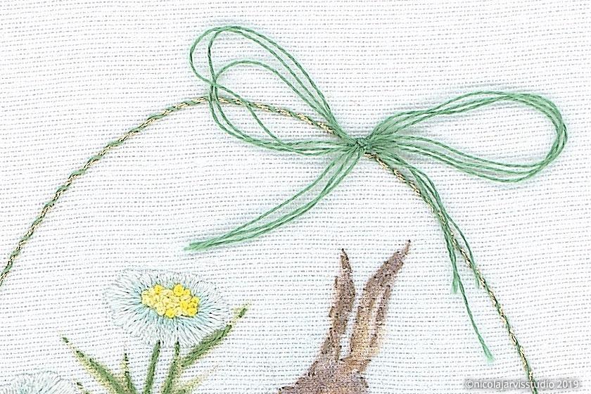 Nicola Jarvis Studio Hare Among Daisies