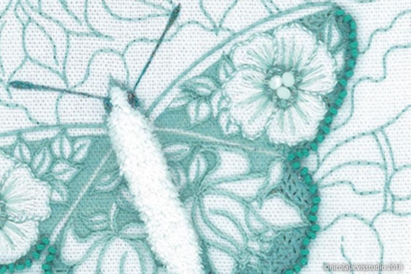 Nicola Jarvis Studio Standen Butterfly