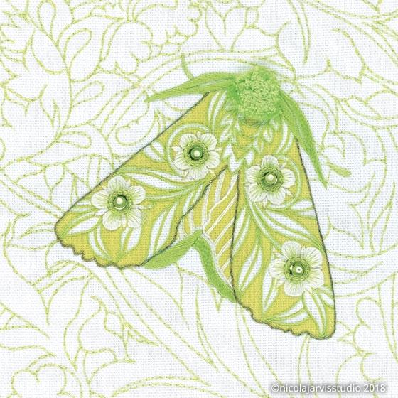 Nicola Jarvis Studio Standen Moth