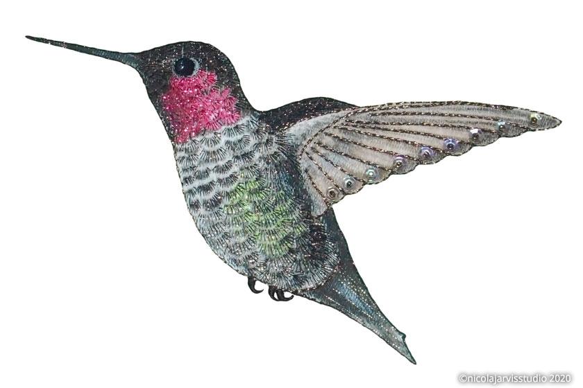 Nicola Jarvis Studio Hummingbird