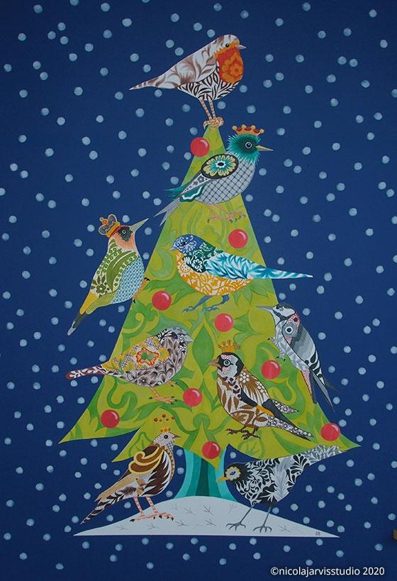 'Christmas Tree' Christmas cards