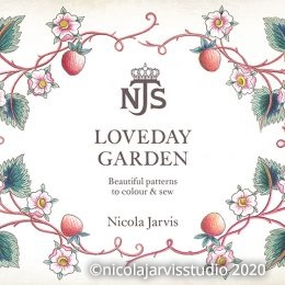 'Loveday Garden' colouring book