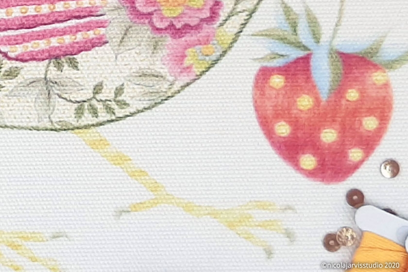 Nicola Jarvis Studio 'Strawberry Thief' fabric