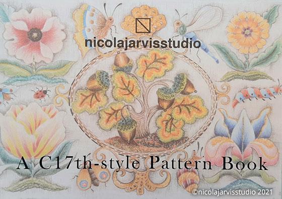 Nicola Jarvis Studio C17th Style Pattern Book