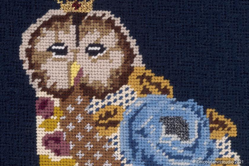 Nicola Jarvis Studio Hillwood Squirrel & Owl greetings cards