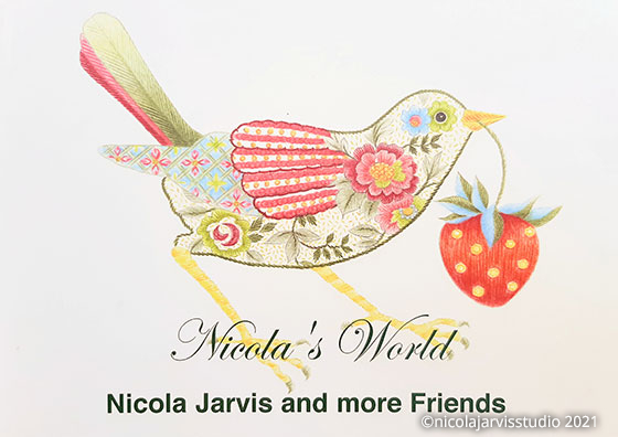 Nicola Jarvis Studio Nicola's World Booklet